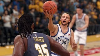 NBA Golden State Warriors vs Denver Nuggets | NBA Jan 8 Full Game Warriors vs Nuggets (NBA LIVE 18)