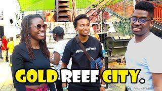 MY FIRST TIME AT GOLD REEF CITY • VLOG 14