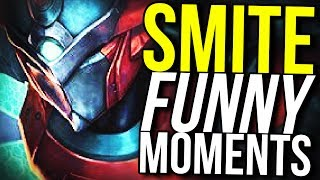 5 PENTAKILLS IN A ROW! - SMITE FUNNY MOMENTS