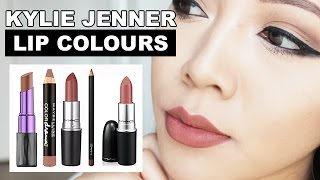 Kylie Jenner Lip Colours, TOP 5 TRIED ON | Suitable For Asian Skintones
