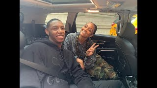 RJ Barrett arrives in NYC and chats with Brittney Elena | Kia