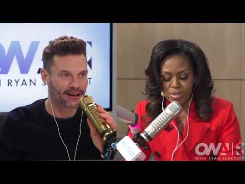Patty Tells Michelle Obama A Story About 'Becoming' & Her Mom  | On Air with Ryan Seacrest