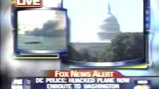 911 Video 2nd Tower Collapses Live On FOX