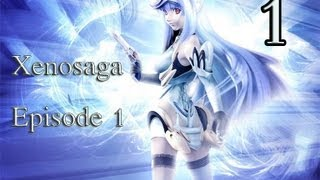 Xenosaga Episode 1 - Lets Play Part 1 - Simulation Commentary