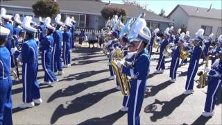 Irvington High School Marching Band @ 2016 Delta Band Review