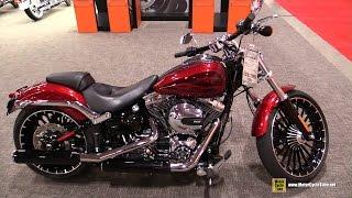 2017 Harley Davidson Softail Breakout - Walkaround - 2017 Toronto Motorcycle Show