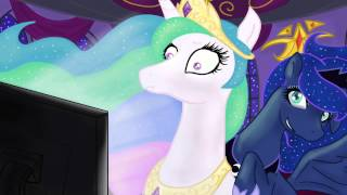 Celestia Uses an Online Dating Website (Chapters 1 & 2) [MLP Fanfic Reading] [Romance/Comedy]