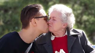 Kissing Old Ladies For Fun