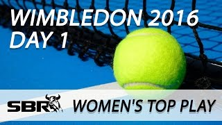 Wimbledon 2016 | Betting Markets, Draw and Outrights | WTA Women's Singles
