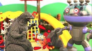 ゴジラVSだだんだん 「ゴジラの赤ちゃんとアンパンマンの愛」