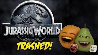 Annoying Orange - JURASSIC WORLD TRAILER Trashed!