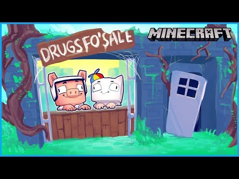 I made a trap house and started selling drugs in minecraft