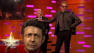Jeff Goldblum Meets His Giant Head! | The Graham Norton Show