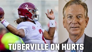 Why Tommy Tuberville thinks Jalen Hurts deserves Heisman Trophy consideration