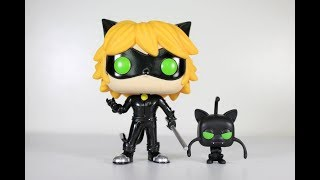 Miraculous CAT NOIR & PLAGG Funko Pop review