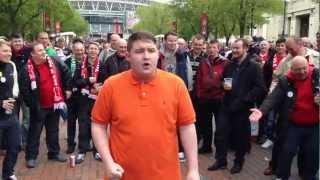 Liverpool v Chelsea FA Cup Final 2012 [Fans pre-match] HD HQ