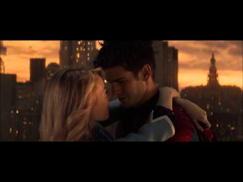 The Amazing Spiderman 2 Kiss Scene :