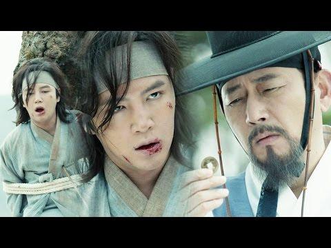 Jang Keun Suk, shot in chest with an arrow but survives! 《The Royal Gambler》 대박 EP05