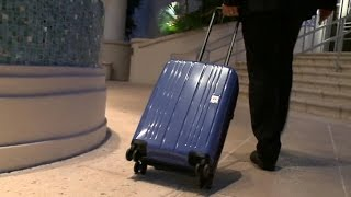 New push to shrink size of carry-on luggage
