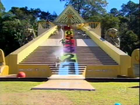 Programa Silvio Santos Gincanas no Parque Aquático 26 08 12