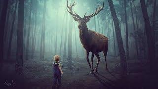Photoshop Manipulation Tutorial My Big Deer Compotition