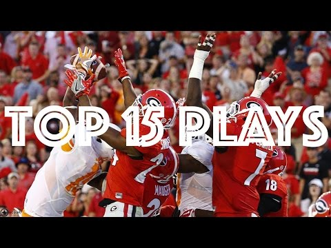 Top 15 Plays of the 2016 College Football Regular Season HD