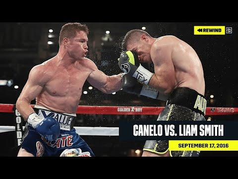 FULL FIGHT Canelo vs. Liam Smith DAZN REWIND