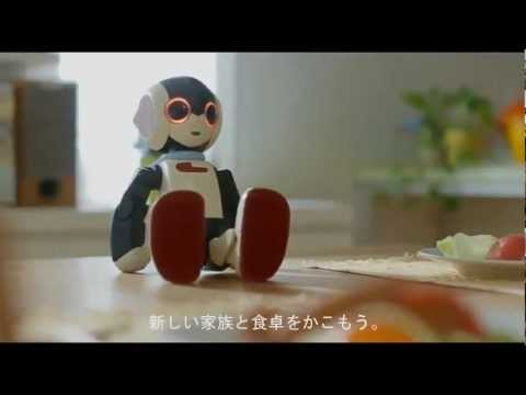 Own your own cute little robot! Robi from Japan