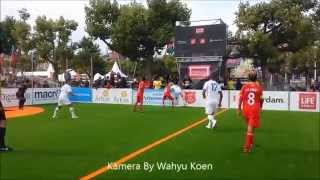 HOMELESS WORLD CUP 2015  Amsterdam  INDONESIA vs SLOVENIA  By Wahyu