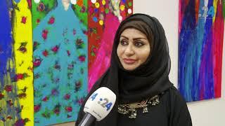 """أبوظبي: لوحات في مستشفى.. """"من خلال عيون المؤسس"""""""