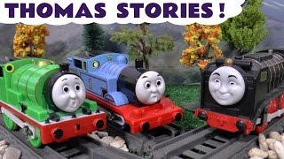 Thomas and Friends Toys Pranks Episodes Family Fun Play Doh Toy Trains Trackmaster Compilation