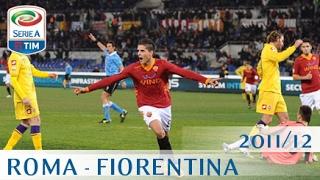 Roma - Fiorentina - Serie A 2011/12 - ENG