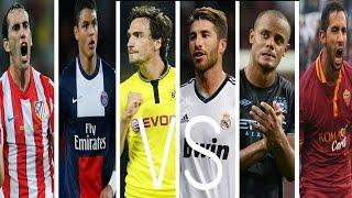 The Battle Of The Best Football Defenders ● World's Best Defenders ● Skills |HD|