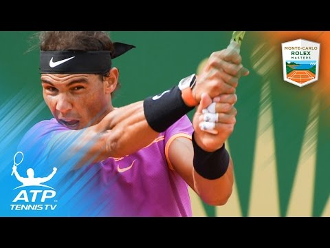 Nadal Murray and Wawrinka fight to victory Monte Carlo Rolex Masters 2017 Day 4 Highlights