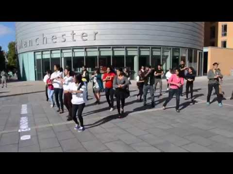 Flash Mob - Indian Dance Society, University of Manchester