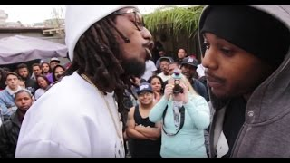 AHAT Rap Battle - Yung Pop vs Ron Compton