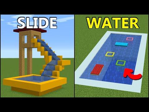 Minecraft 15 Summer Build Hacks