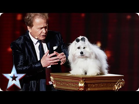 Marc Métral and Miss Wendy wow the crowd Semi Final 4 Britain s Got Talent 2015
