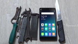 Xiaomi Mi4i Screen Scratch Test