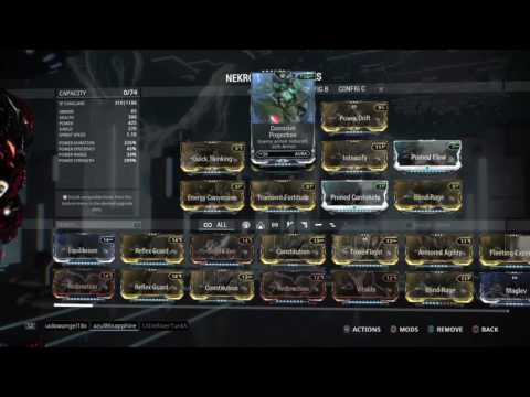DPS nekros (++NEXT PRIME!) by DrRayGun's Live PS4 Broadcast WARFRAME