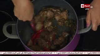 طريقة عمل المبكبكة البدوى على طريقة الشيف اسماء مسلم - المطبخ