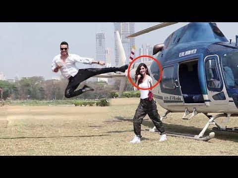 Xxx Mp4 Tiger Shroff S Amazing Stunt With Disha Patani For Baaghi 2 Promotions 3gp Sex
