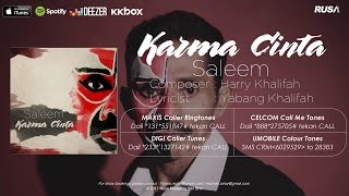 Saleem - Karma Cinta [Official Lyrics Video]