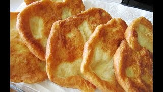 Fried Crispy Bread خبز مقلي مقرمش (خبز مكسب) نان ساجي