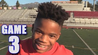 GABE'S FIRST TOUCHDOWN! | On-Season Football Series | Game 3