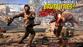 ONLINE MATCH ASS WHOOPIN! + BRUTALITIES! [MKXL]