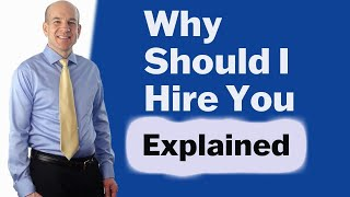 """""""Why should I hire you?"""" - Best Interview Questions and Answers"""