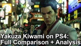 Yakuza Kiwami: Complete PS4 Remake vs PS2 Original Comparison + Frame-Rate Test