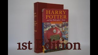 Harry Potter and the Philosophers Stone by J. K. Rowling (1997 Bloomsbury 1st Edition)