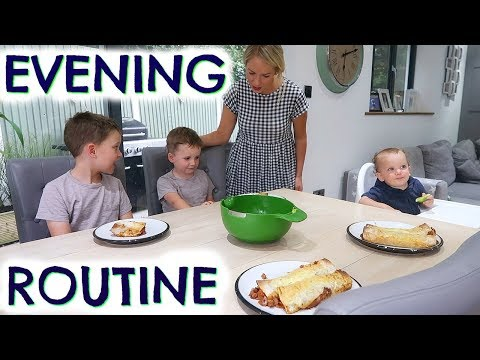 Xxx Mp4 EVENING ROUTINE WITH 3 KIDS DINNER SORTED EMILY NORRIS AD 3gp Sex